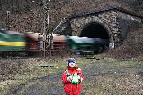Laurinka, Stary Tahanovsky tunel