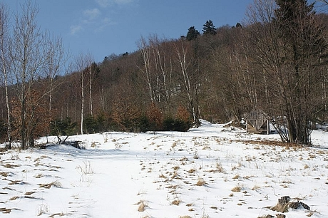 Sennik, pod Bukovym vrchom