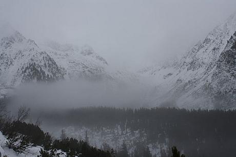 Thailon, Hincove pleso, ski-touring, Vysoke Tatry