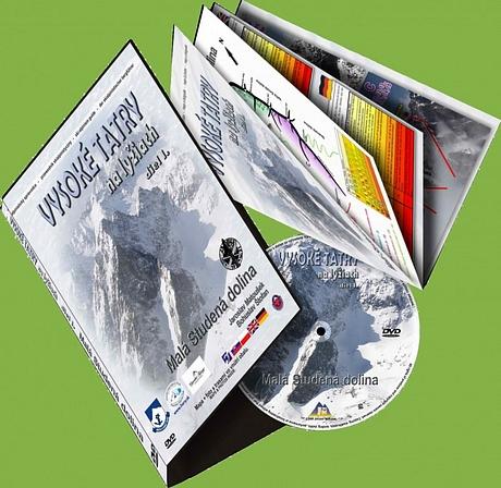 DVD Vysoké Tatry na lyžiach 1.diel - Malá Studená dolina