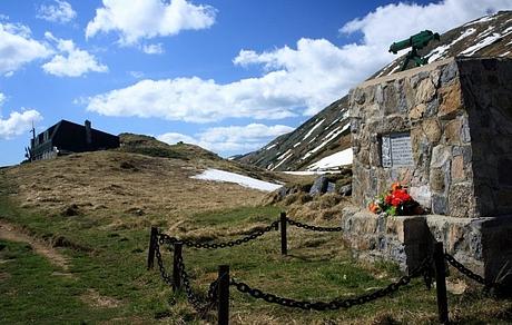 pamätník partizánovy Babkinovi, Nízke Tatry