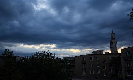 Opäť západ slnka