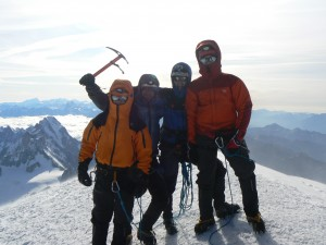Martin Mišovic (Mont Blanc 4 810 m.n.m.)