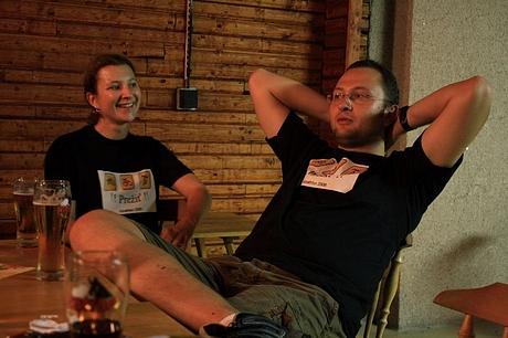 Janka Garstková a Mišo Major