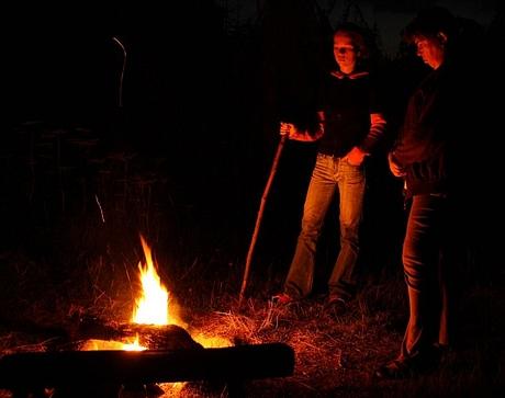 ... a samozrejme oheň :)