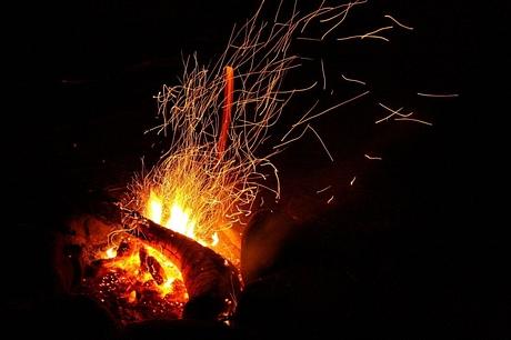 ... a oheň ...