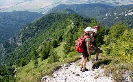 DCharlie a Algolka, hreben ku Kačarovej