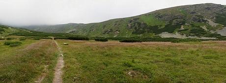 Bystrá dolina, hrebeň Kobyly, panoráma