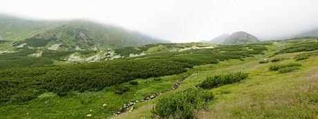 Bystrá dolina, hrebeň Ježovej