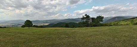 planina Horný vrch, panoráma