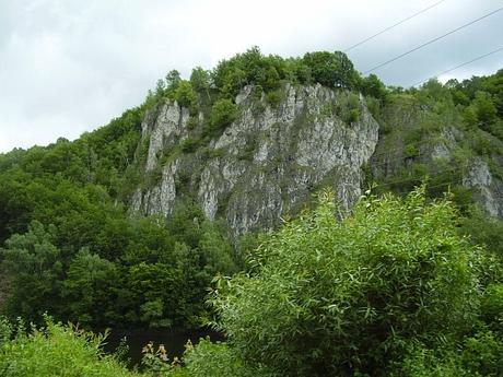 Skalné bralá Čiernej hory