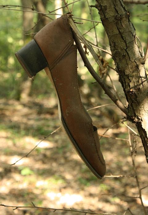 na opätku topánky lesnej víly ;)