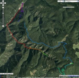 track zariadenia GARMIN GPS 60CS