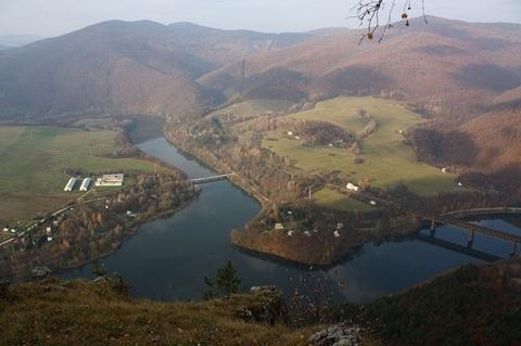 Bujanovské vrchy z Holice, Čierna Hora