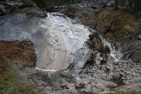 vodopád Šmykľavka pri Lastovičej doline