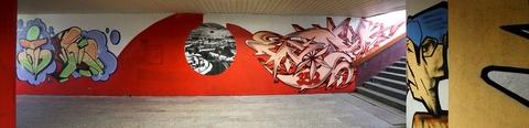 Graffiti, Banská Bystrica, panoráma