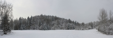 Hájska planina, Slovenský kras - panoráma