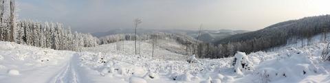 Pod Osadníkom, Volosvké vrchy - panoráma