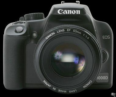 Canon EOS 1000D (ilustračná fotografia)