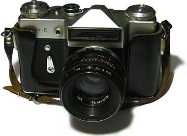 Zenit E, Helios 44-2 objektív
