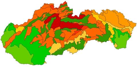 Geomorfologické členenie Slovenska