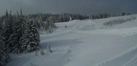 Skipark Erika, Kojšova hoľa, vlek C a trať 6 (panorama)