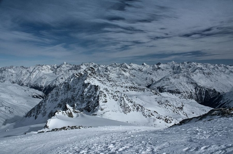 ... Alpské nekonečno ...