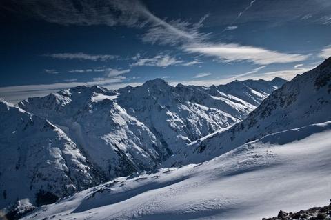 Alpské nekonečno ...