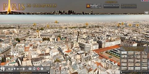 Paris 26 Gigapixles