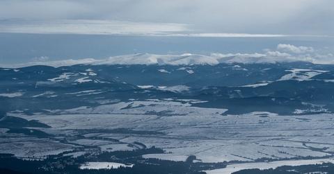 Kráľova hoľa, Nízke Tatry (pohľad zo Soliska)
