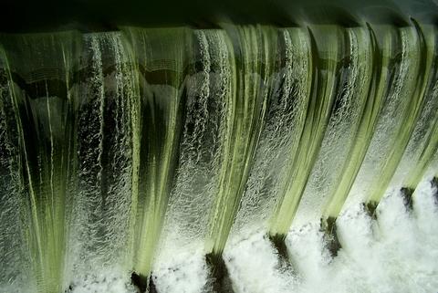 Vodopád, sídlisko nad Jazerom