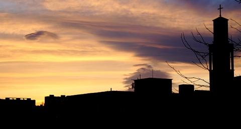 ... ako inak, obyčajný západ Slnka ...