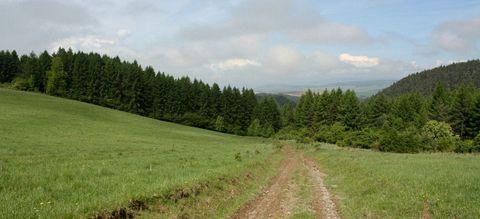 Lúky nad Matejovcami, Havranie vrchy