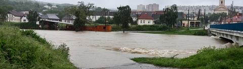 rieka Hornád, Súdky, Košice (panoráma)