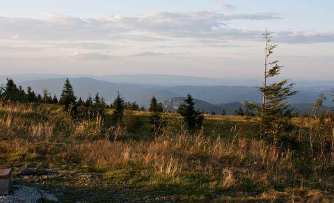 Folkmarská skala z Kojšovej hole.