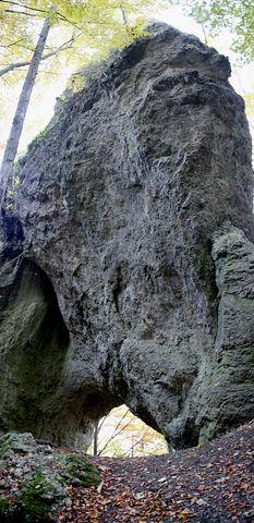 Skalná brána Vrátnica (panoráma)