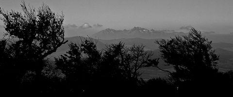 Vysoké Tatry z Čergovského Minčola