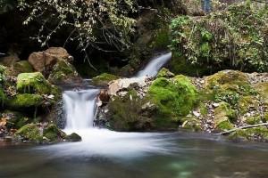 Hájske vodopády.