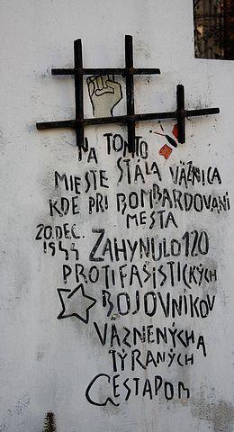 ... bombardovanie Prešova ...