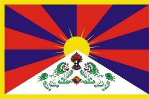 Vlajka pre Tibet 2013
