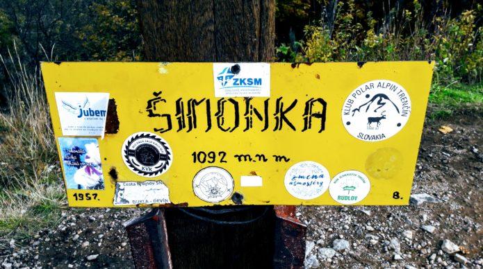 Šimonka, Slanské vrchy