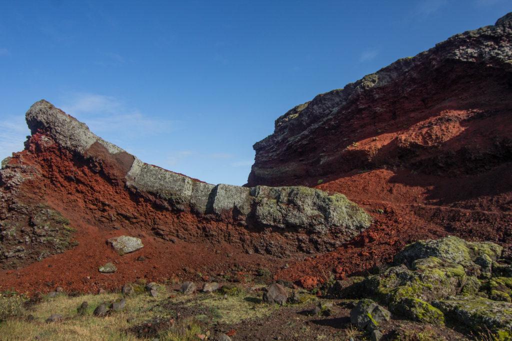 Rauðhólar (Červené vrchy), Island