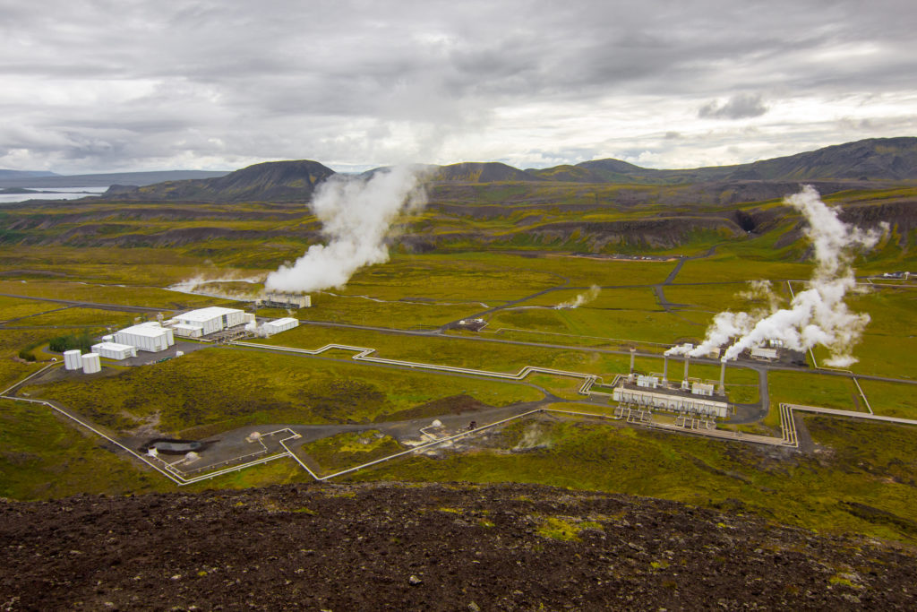 Nesjavellir, Island