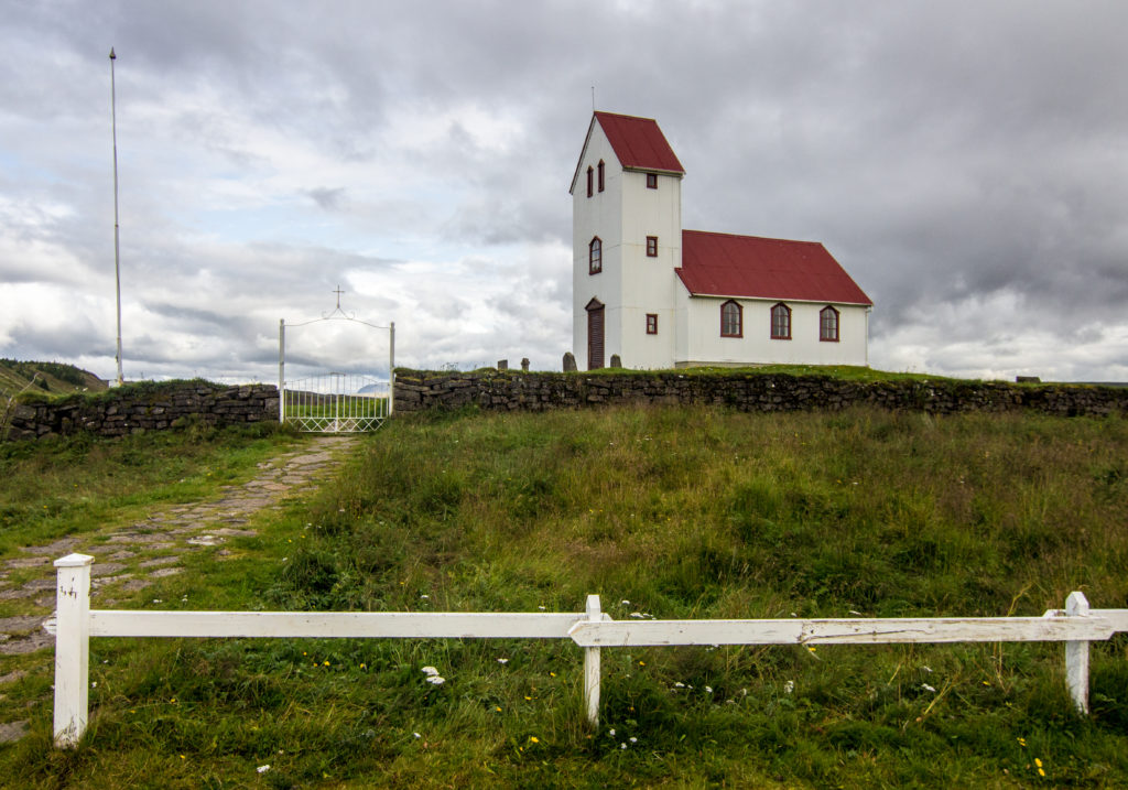 Úlfljótsvatnskirkja, Island