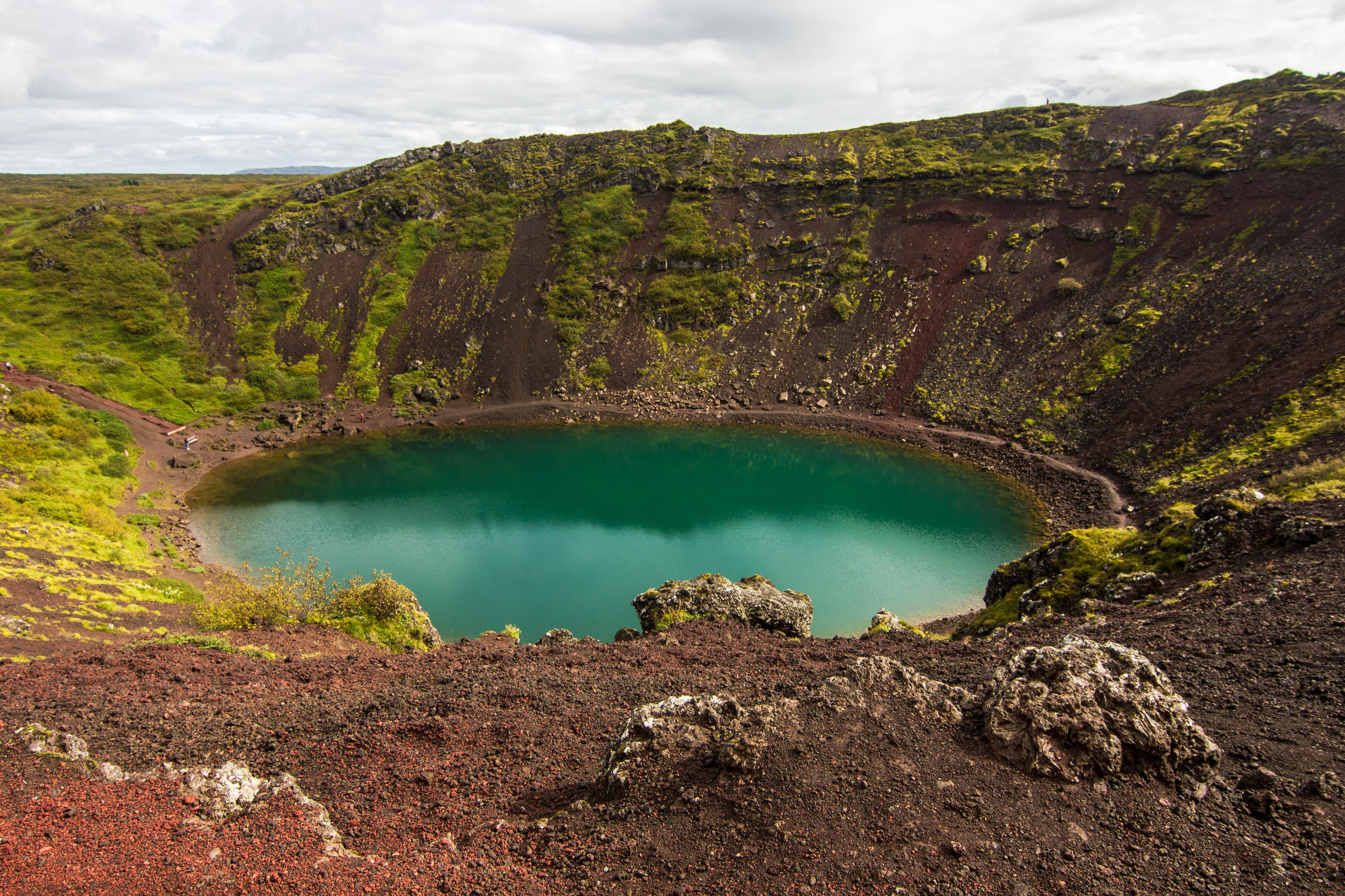 Kerið, Island