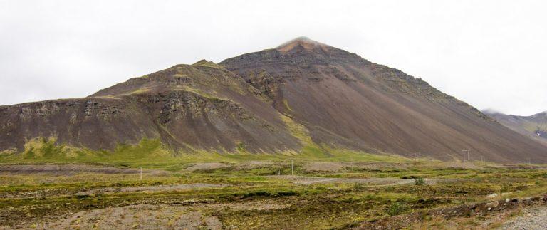 Hafnarfjall, vulkán Skardsheidi
