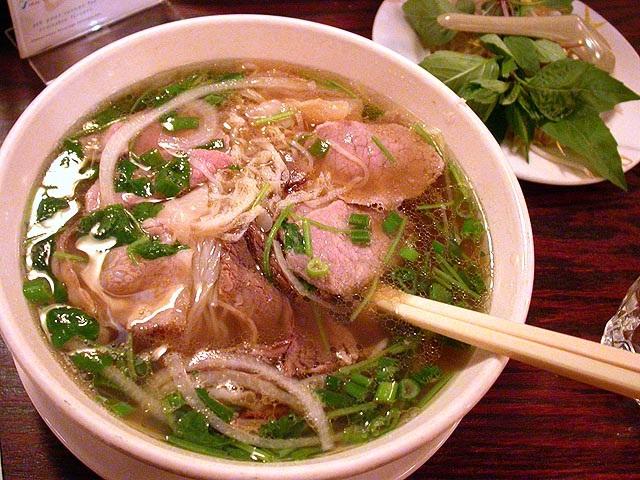 Vietnamská polievka Phở