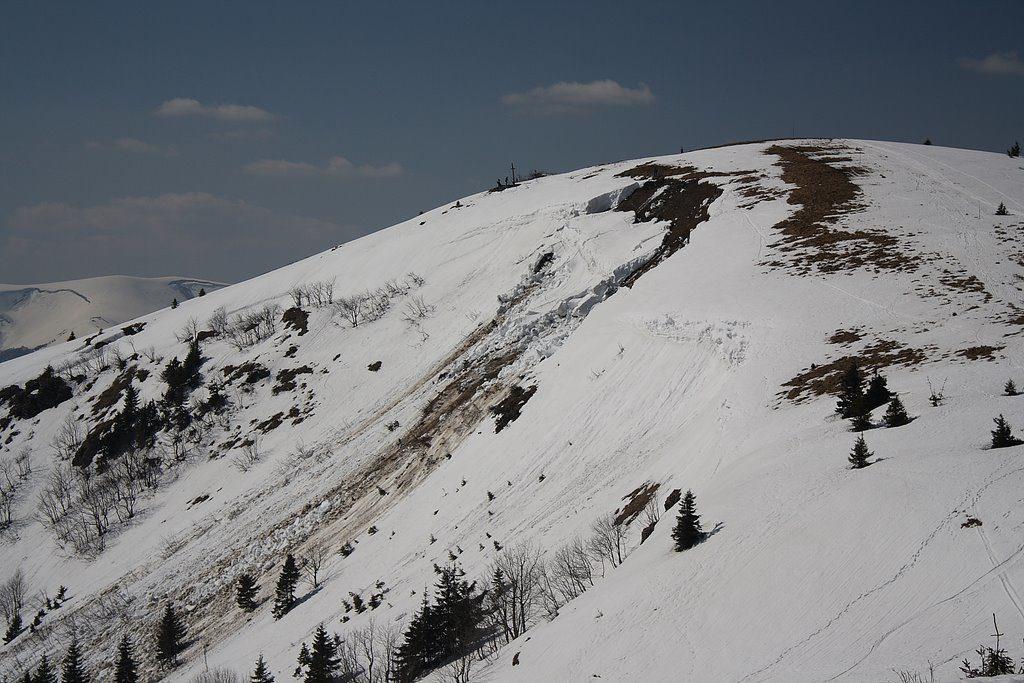 základové lavíny vo Veľkej Fatre