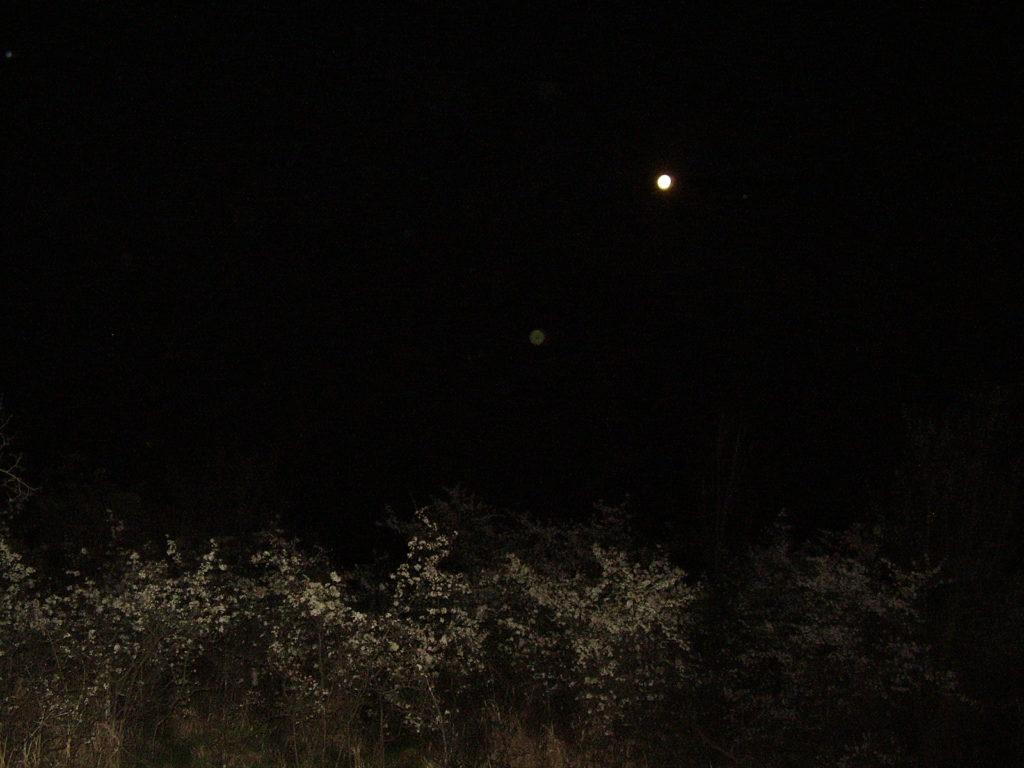 nočná geocache nad Ratkovou